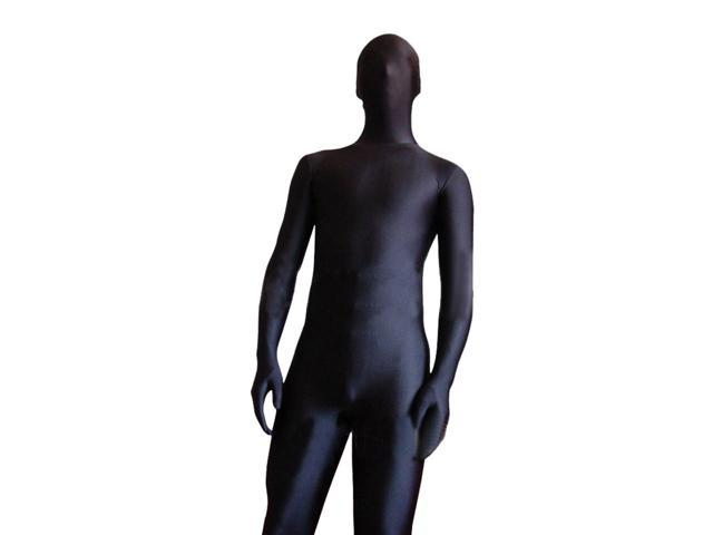 Black Morf Bodysuit Adult Costume Standard