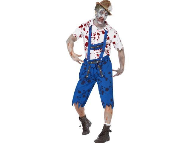 Zombie Beer Bavarian Adult Costume Large