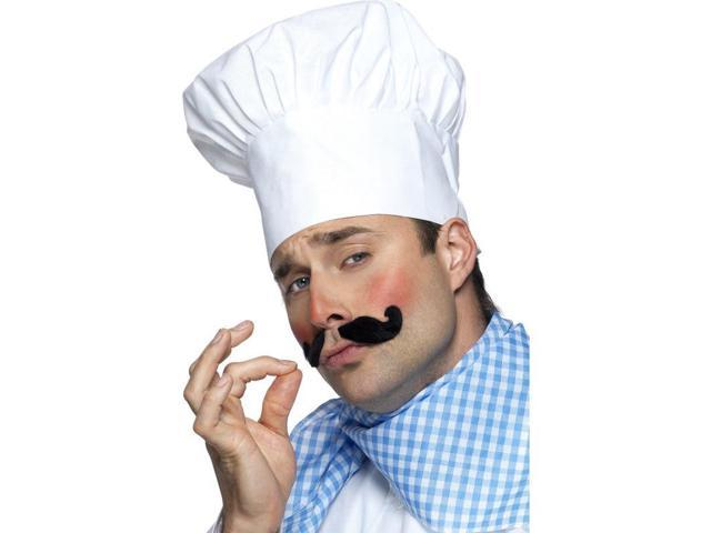Chef's White Costume Hat One Size Fits Most