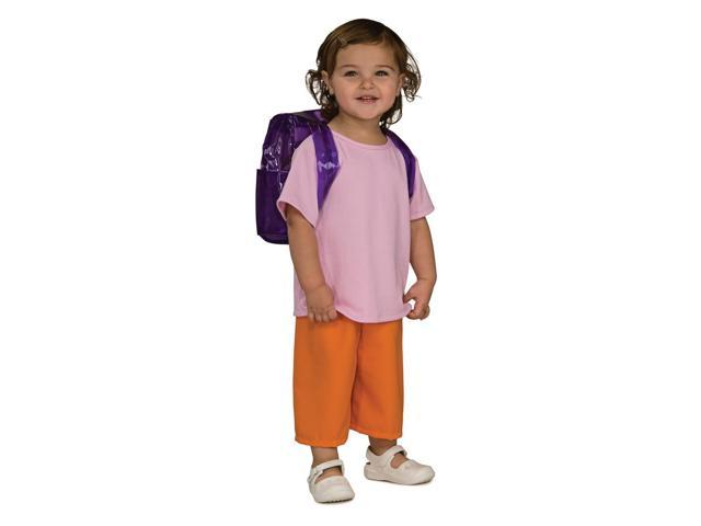 Dora The Explorer Deluxe Dora Toddler Costume 2T-4T