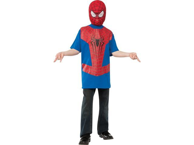 New Official The Amazing Spider-Man 2 Movie Spider-Man Child Costume