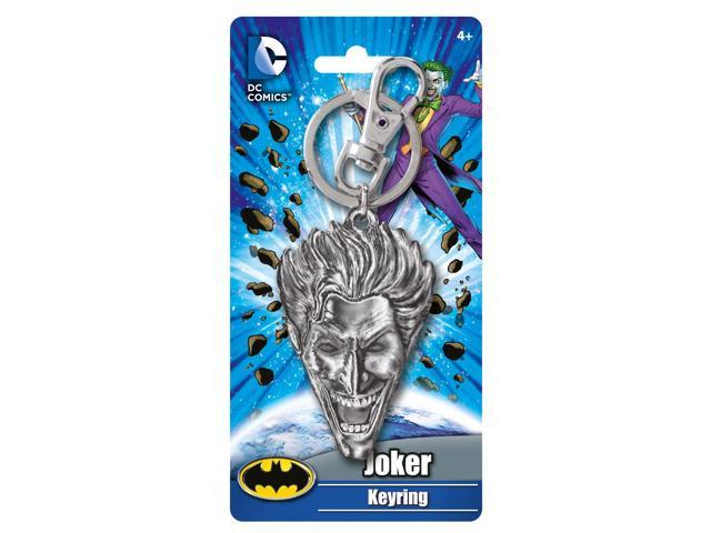 DC Comics Joker Head Pewter Key Ring