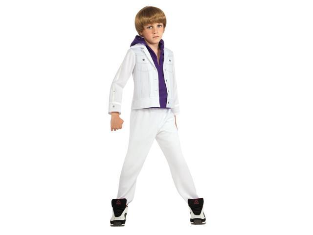 Justin Bieber Costume Child Medium