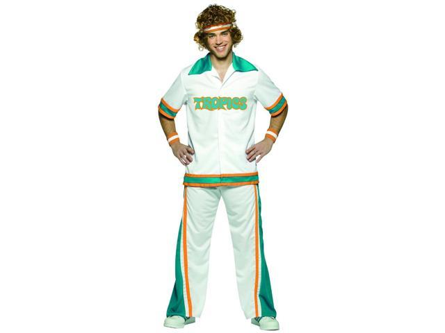 Semi-Pro Warm Up Costume Suit Adult Plus Plus