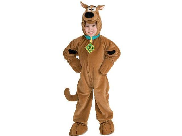 Scooby Doo Deluxe Plush Costume Toddler 2T-4T