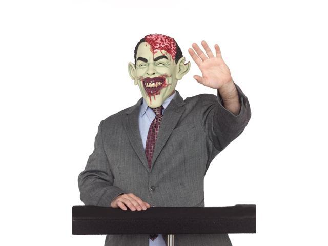 Celebrity Zombie In Charge Costume Mask Adult One Size