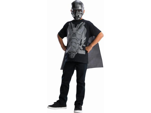 Superman Man Of Steel General Zod Costume Top & Cape Child Large