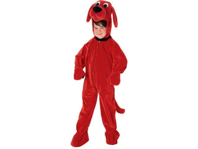 Clifford The Big Red Dog Jumpsuit Toddler Costume Small