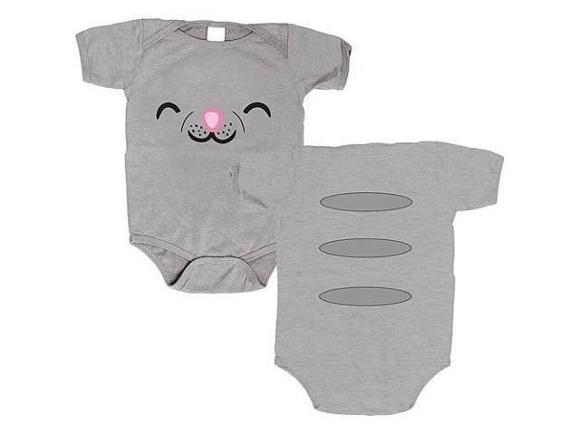 Big Bang Theory Soft Kitty Face Creeper One Piece T-Shirt 18-24 Months
