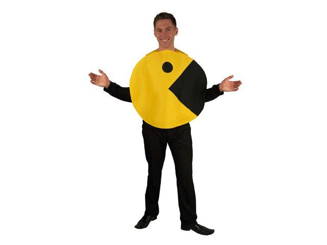Pac-Man 2D Profile Adult Costume Standard