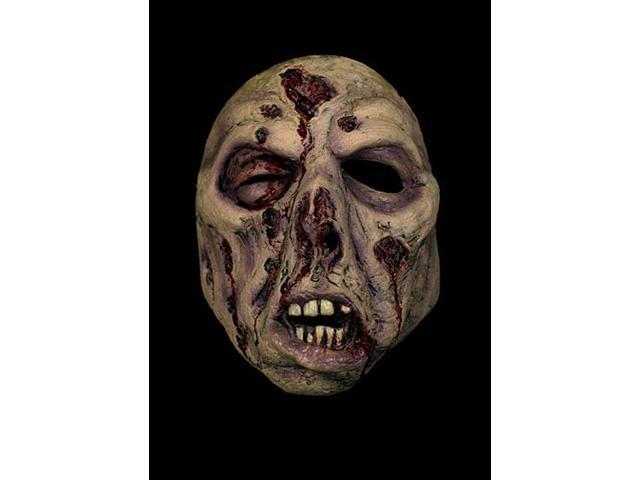 Fuller Zombie Costume Face Half-Mask Adult: #2 One Size