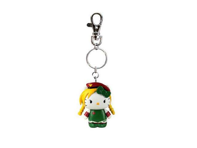 Street Fighter X Sanrio Mobile Key Chain Cammy