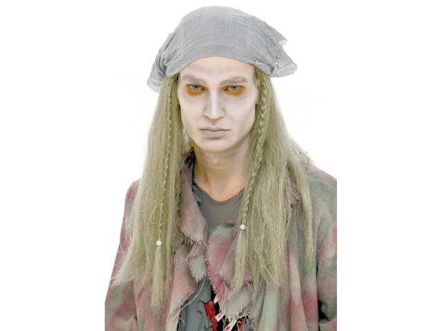 Ghost Stories Pirate Adult Costume Wig One Size