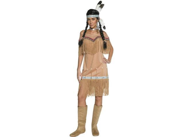 Western Indian Female Costume Dress Adult Large