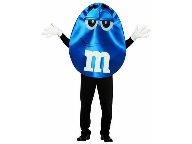 M&M Blue Deluxe Costume Adult Costume Standard