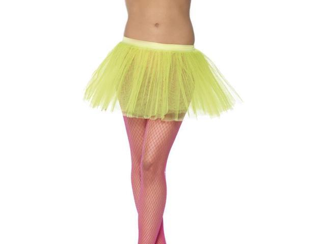 Tutu Neon Yellow Adult Costume Underskirt One Size