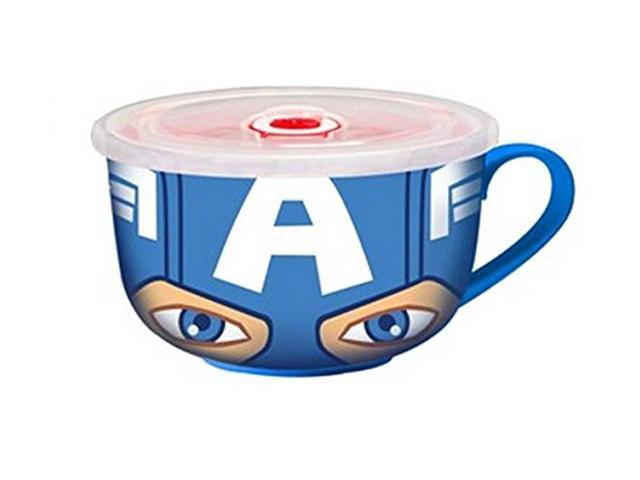 Marvel Character Molded Coffee Mug Captain America