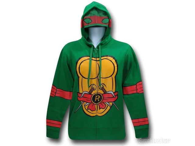 I Am Raphael Teenage Mutant Ninja Turtles Zip Up Hoodie X-Large