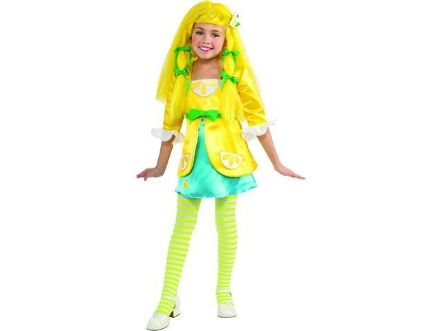 Strawberry Shortcake Deluxe Lemon Meringue Costume Child Toddler 2T-4T
