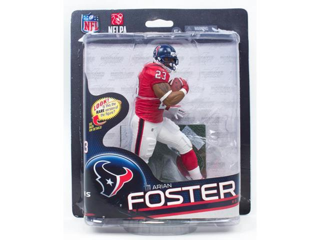 McFarlane NFL 32 Figure Arian Foster Red Jersey Silver Level Variant