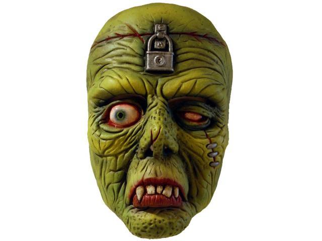 The Fiend Costume Half Face Mask Adult One Size