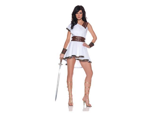 Olympia Greek Roman Costume Mini Dress Adult Large
