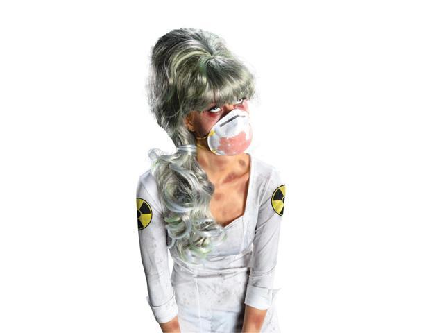 Nuclear Nurse Costume Wig Adult One Size