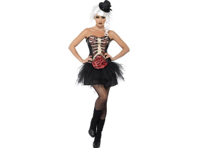 Grotesque Burlesque Dancer Adult Costume Large