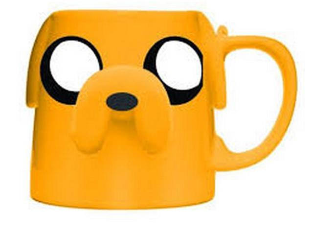 Adventure Time With Finn And Jake Figural 16 oz Mug