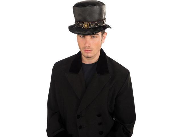 Steampunk Belted Costume Hat Adult One Size