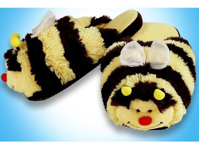 My Pillow Pets Bumblebee Slippers Small