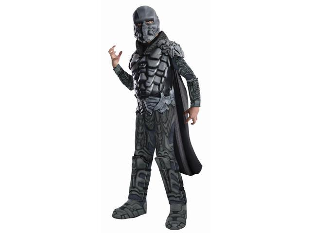 Superman Man Of Steel General Zod Deluxe Muscle Chest Costume Child Small