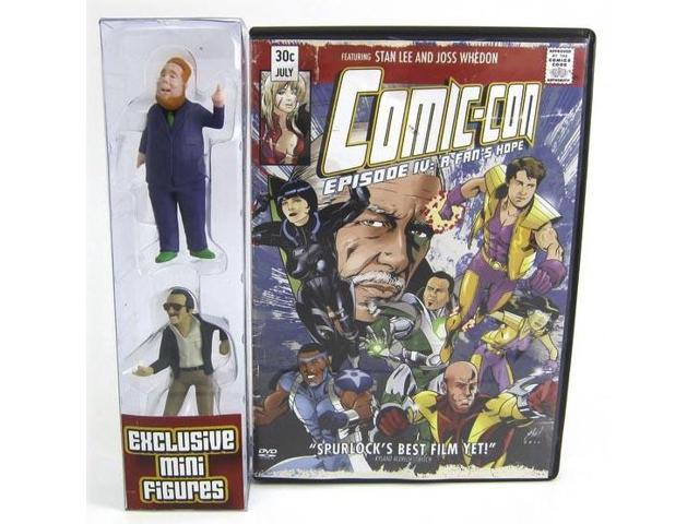 Comic Con Episode IV: A Fans Hope DVD With Exclusive Stan Lee Figure