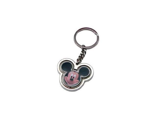 Disney Mickey Mouse Head Spinner Key Ring