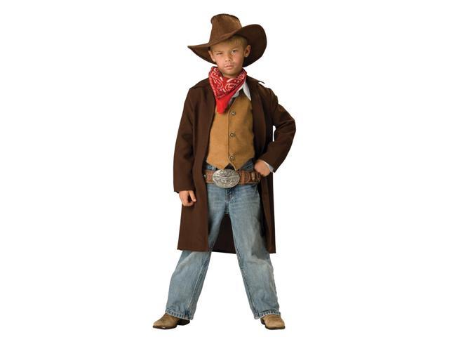 Rawhide Western Cowboy Renegade Duster Designer Costume Child X-Small 4