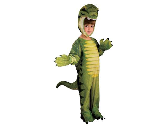 Dino-Mite Green Dinosaur Costume Jumpsuit Child Toddler 2T-4T