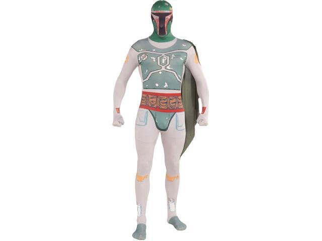 Star Wars 2nd Skin Costume Adult: Boba Fett Large