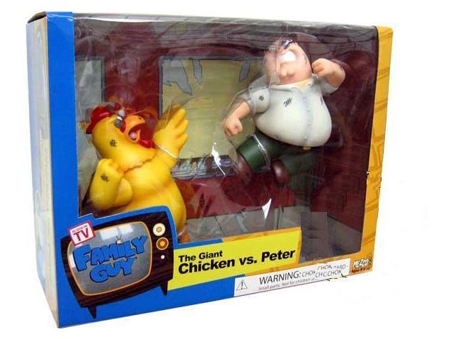 Family Guy Giant Chicken & Peter 2-Pack Case Of 6