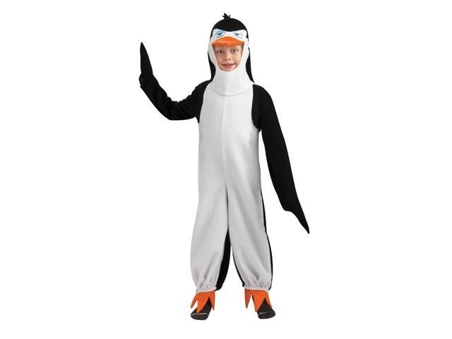 Penguins Of Madagascar Deluxe Penguin Rico Costume Child Toddler Small