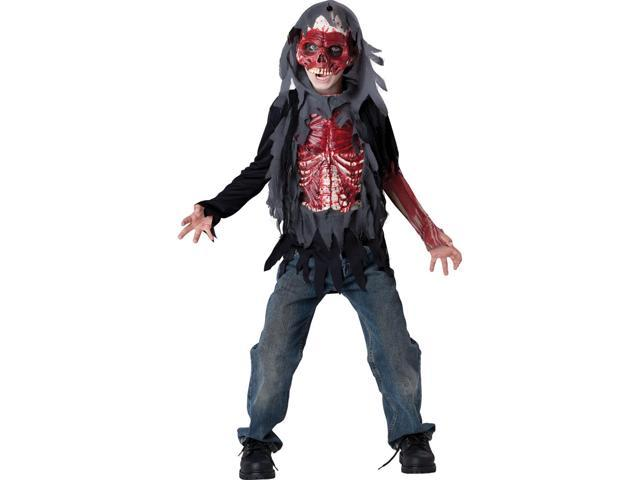 Kids Skinned Alive Zombie Costume