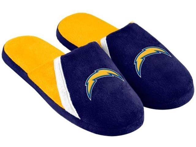 San Diego Chargers Nfl Swoop Logo Slide Slippers Large