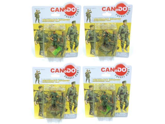 1:35 Combat Figure Series 3 Wehrmacht Infantry Barbarossa '41 Set Of 4