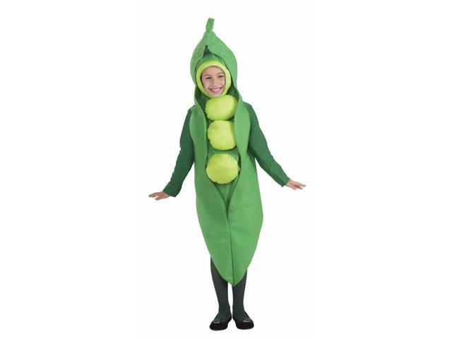 Veggie Pea Costume Child Small 4-6