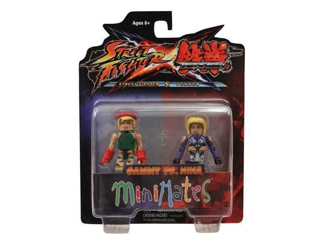 Street Fighter X Tekken Minimates Figure 2 Pack Cammy vs Nina