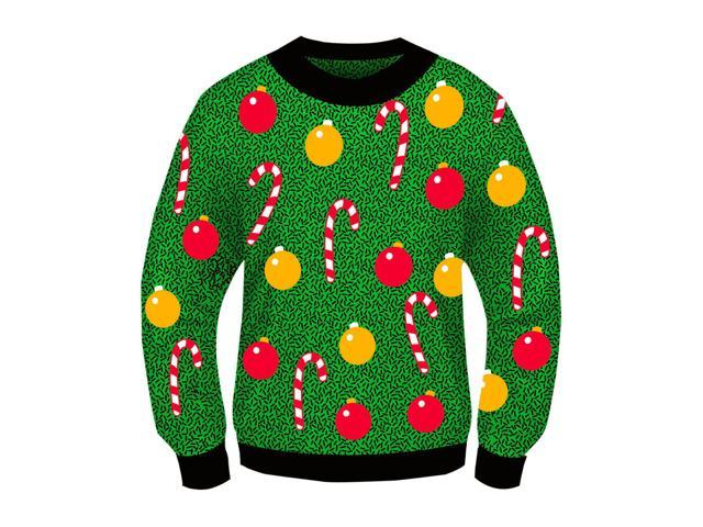 Ugly Christmas Ornament Adult Sweater X-Large