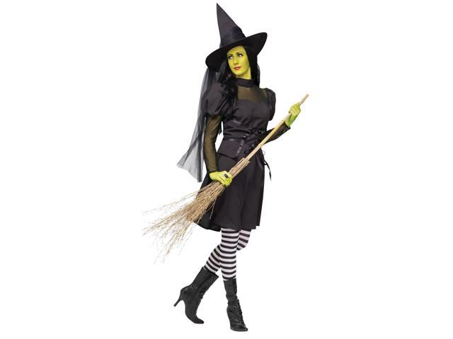 Ms. Wick'd Sexy Witch Costume Adult Medium/Large 10-14
