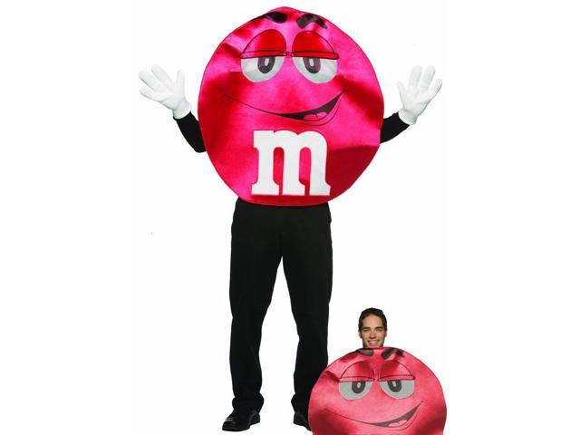 M&M Candy Red Deluxe Costume Adult Standard