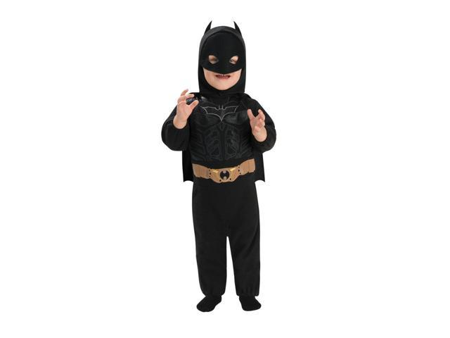Batman Costume Romper Infant 6-12 Months