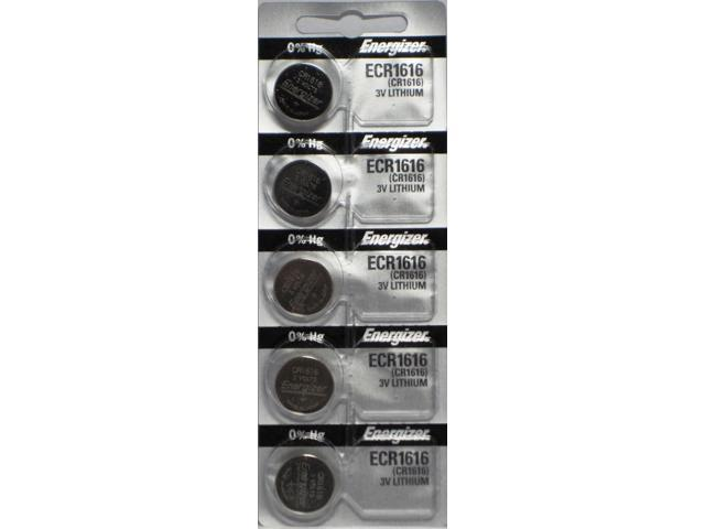 Energizer Battery ECR1616 3V Lithium (5 Per Pack)