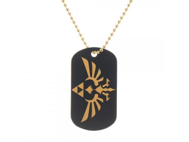 Necklace - Nintendo - Zelda Metal Dog Tag New Anime Licensed dt1hhhzss